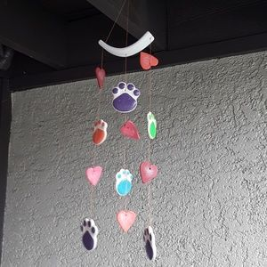 🐾Pawprints Wind Chime